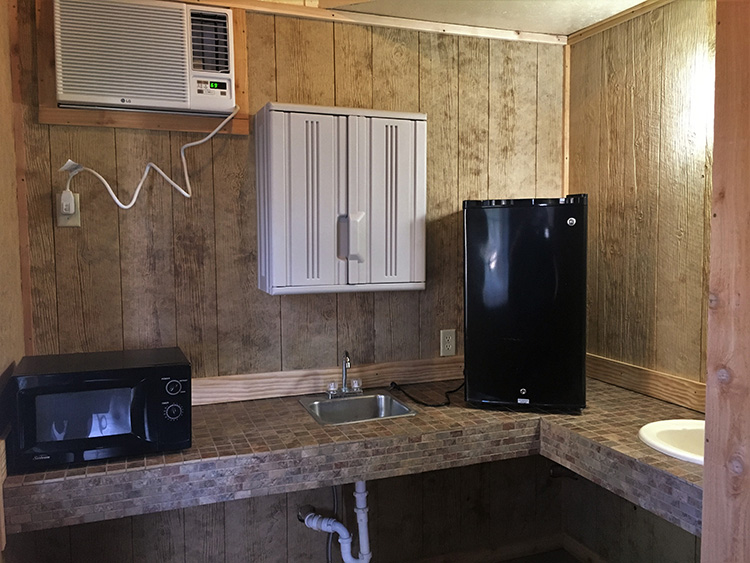 7 man cabin kitchenette 750x563