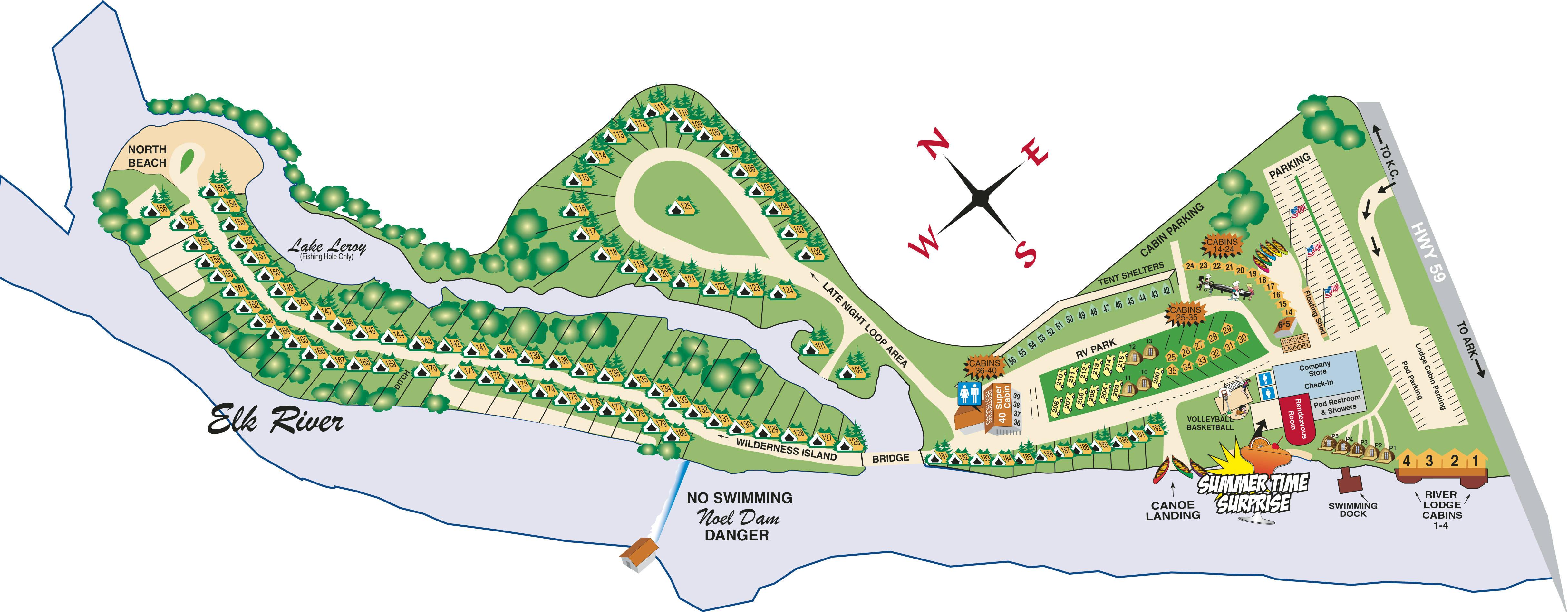 Resort Site Map 2021