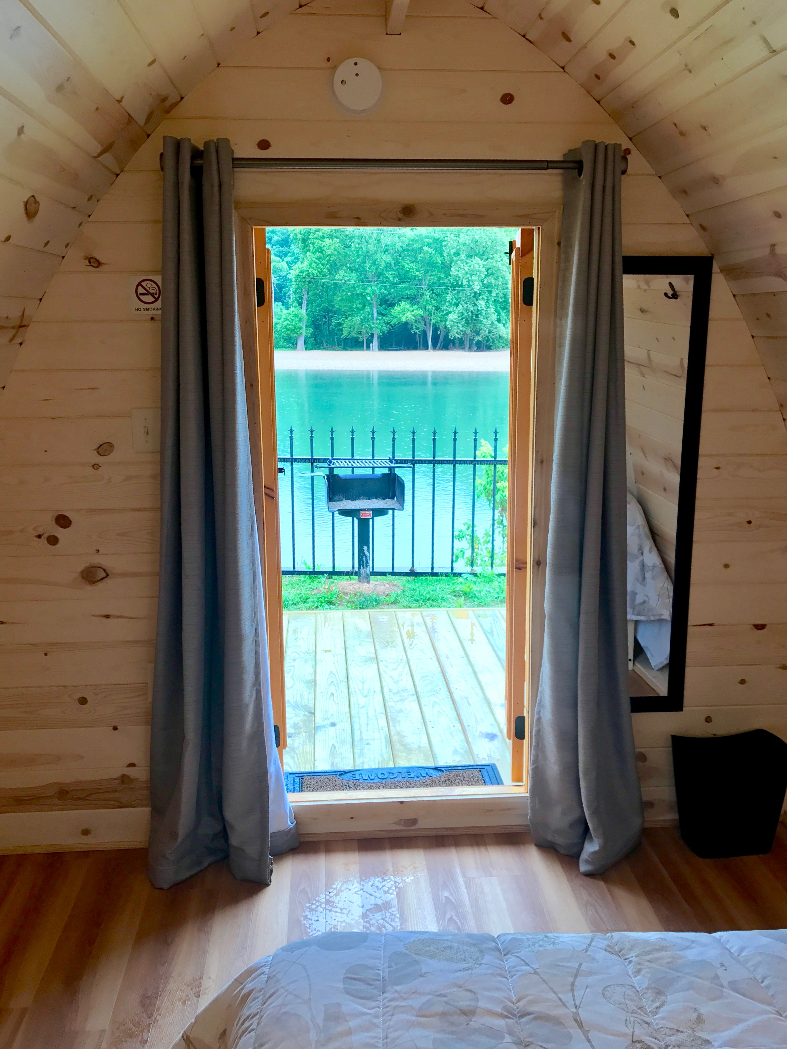 River Ranch Resort glamping pod interior