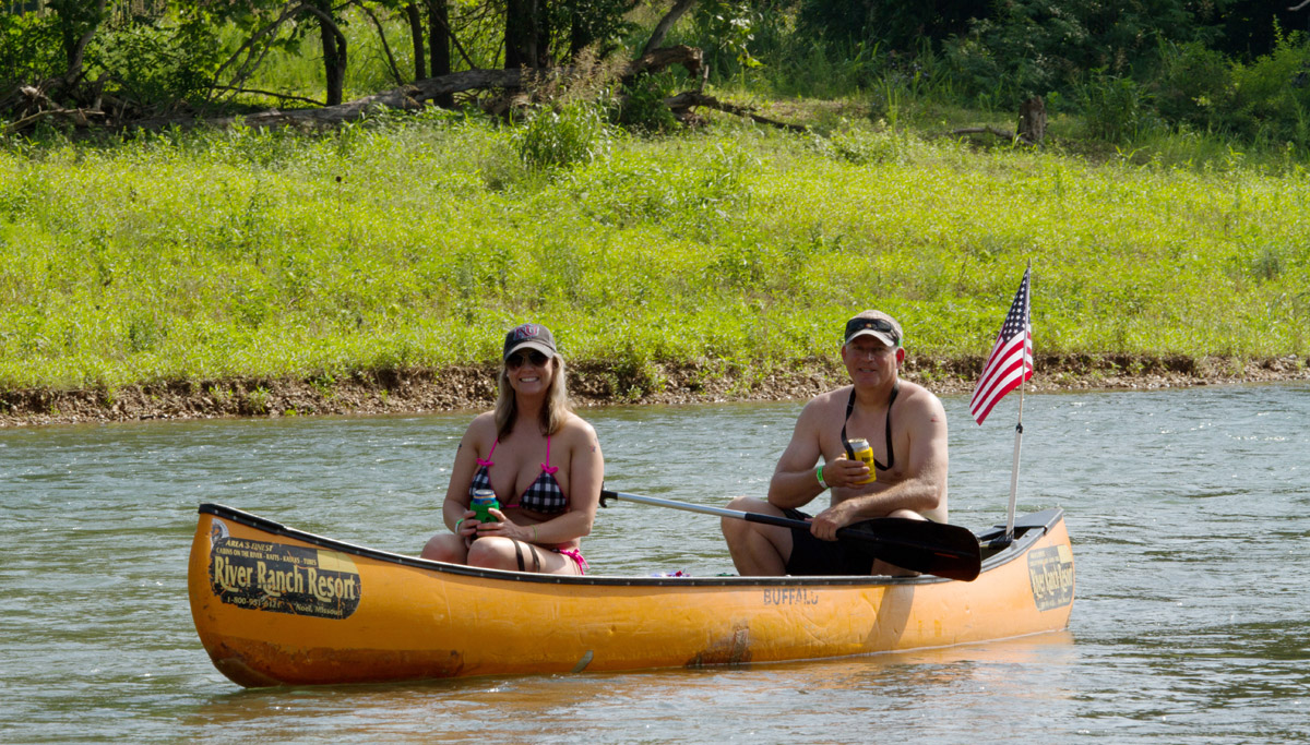 Twin River Outfitters runs canoe, kayak, rafting, and